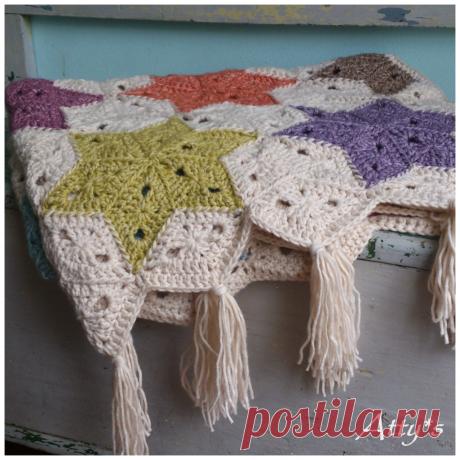 Вязание ромбами — Делаем руками