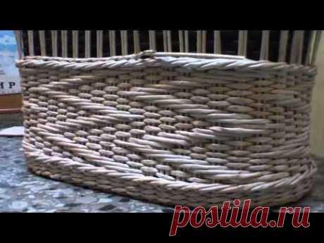 """▬► Объемный узор """"Зигзаг"""" на основе ситцевого плетения. Часть 2."""