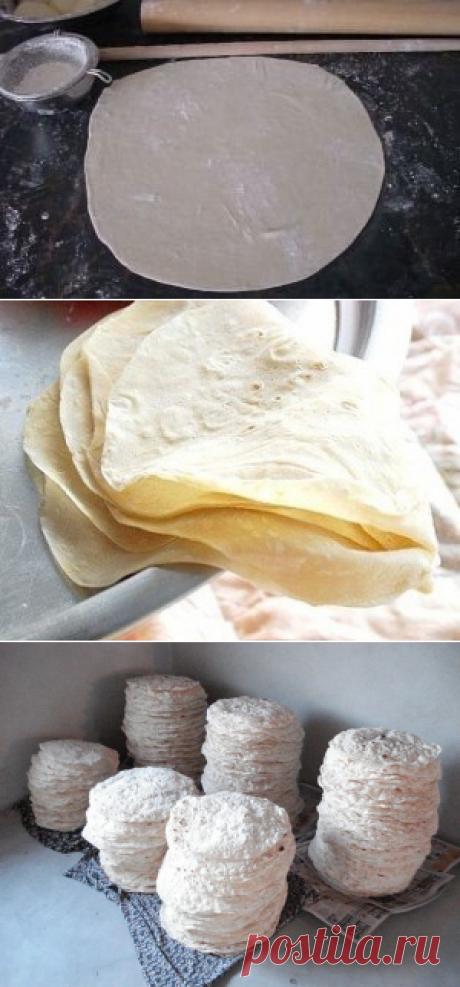 Как приготовить турецкое тесто юфка - рецепт, ингредиенты и фотографии