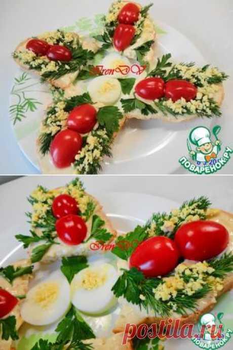 "Бутерброды ""Мимоза"" - кулинарный рецепт"
