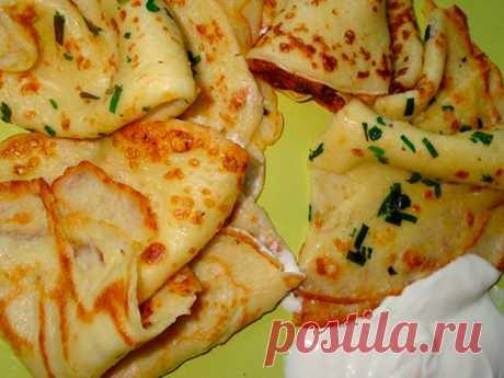 Рецепты и Блюда: Тонкие картофельные блины