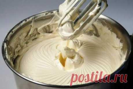 Сливочный крем «Пятиминутка» из простых ингредиентов