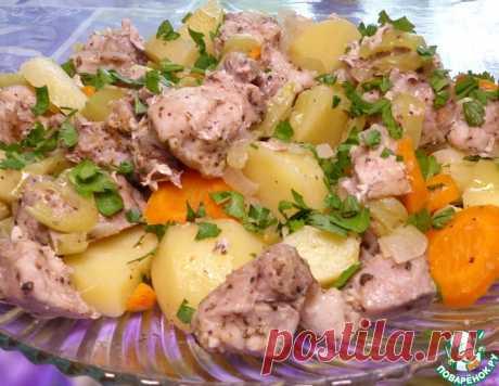 Свинина с овощами на пару – кулинарный рецепт