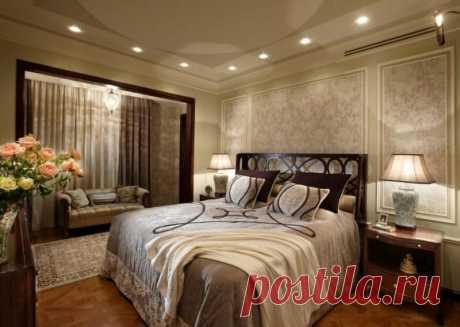 Важная роль света в спальне #спальня #освещение #дизайнинтерьера