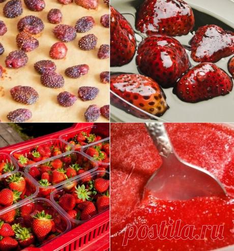 Для тех, кому надоело варенье: 5 способов сохранить ягоды совершенно по-новому - My izumrud