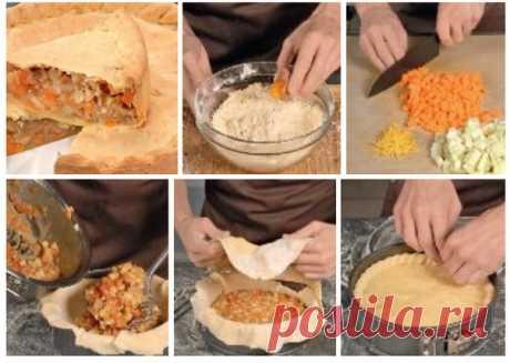 Тыквенный пирог в духовке  Если вам пришла в голову идея испечь тыквенный пирог в духовке, воспользуйтесь нашим простым рецептом. --------------------------------------------------------------- ИНГРЕДИЕНТЫ Для начинки: тыква – 500 г масло сливочное – 50 г кедровые орешки – 1 горсть цедра 1 апельсина – 1 апельсин гвоздика молотая – щепотка корица молотая – 1 ч. л. сахар – 70 г большое яблоко – 1 шт. Для теста: масло сливочное – 125 г свежие яичные желтки – 1 шт. мука пшенич...