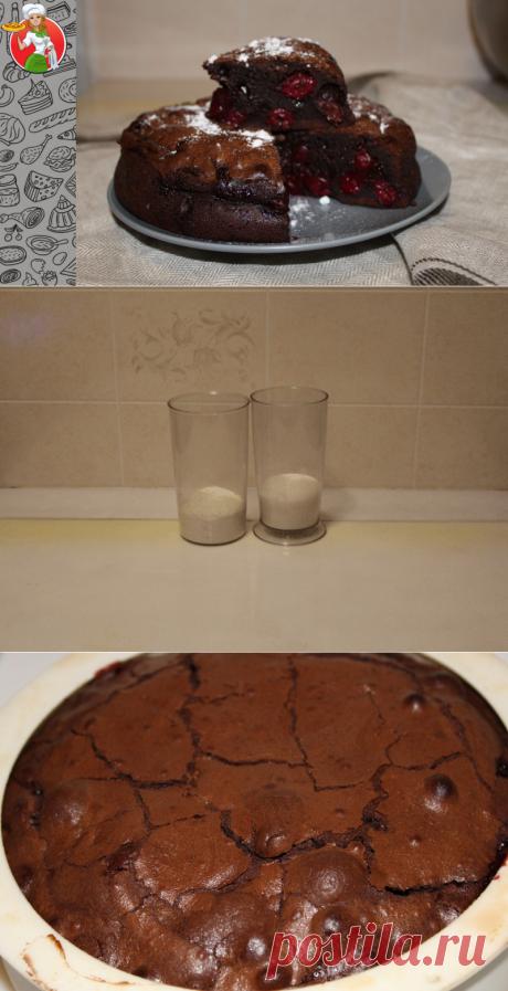 Этого десерта нужно готовить много, иначе всем не хватает: брауни с вишней | Рецепты от Джинни Тоник | Яндекс Дзен