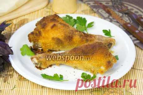 Куриные ножки в кляре в духовке рецепт с фото, как приготовить на Webspoon.ru
