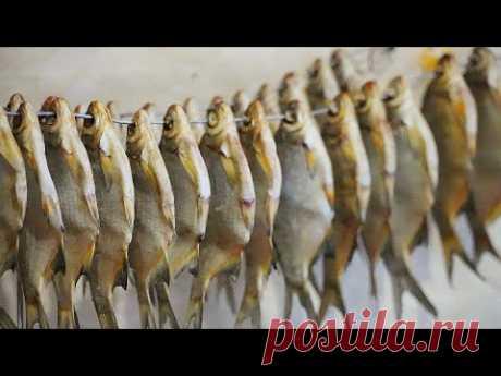 Как я солю рыбу. Вяленая рыба, полный процесс.
