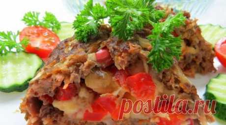 Очень вкусное и нарядное блюдо! Котлета по-эстонски Pikk Poiss — Едим дома