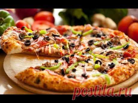 БЫСТРАЯ ИТАЛЬЯНСКАЯ ПИЦЦА.Как приготовить пиццу. Пицца в домашних условиях. Рецепт пиццы. - YouTube