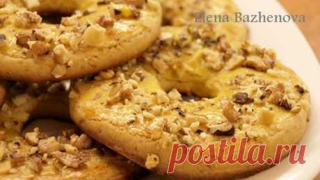 Печенье Песочные кольца - рецепт Елены Баженовой
