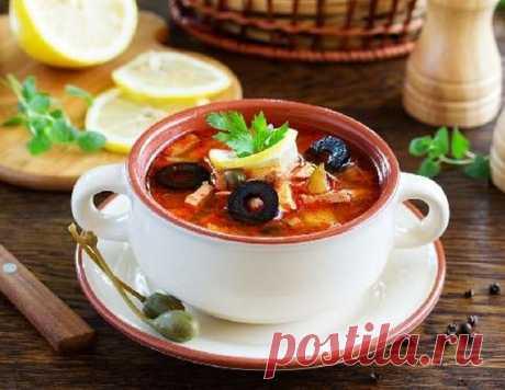 Аппетитная солянка - рецепт приготовления с фото от Maggi.ru