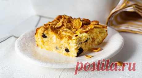 Запеканка из лапши с творогом – вкусное и сытное домашнее блюдо — Фактор Вкуса