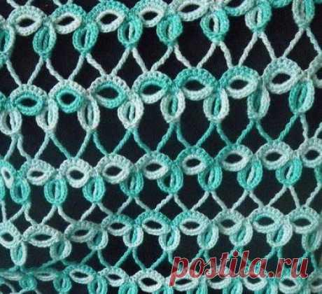 Вязание: интересный узор. Схема и пошаговый мк