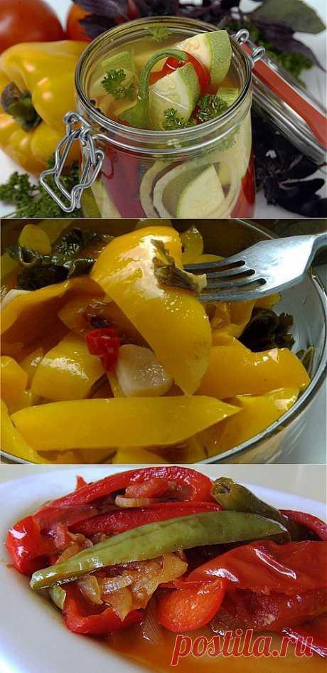 Салаты со сладким перцем: 5 самых вкусных / Простые рецепты