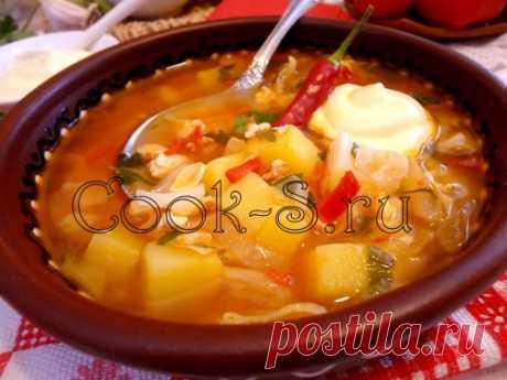 Суп «Чехословацкий» с мясным фаршем: настолько сытный, что второе блюдо тебе не понадобится!