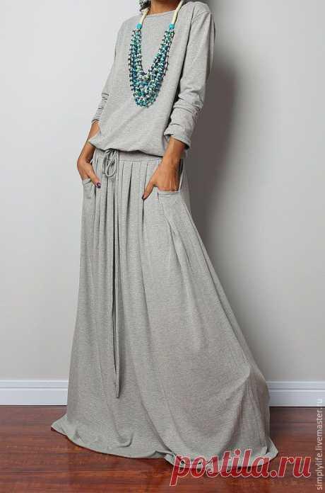 Зимние платья из шерсти (трафик) Модная одежда и дизайн интерьера своими руками