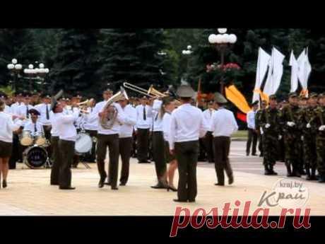 Юбилей воинской части 04152 в Молодечно