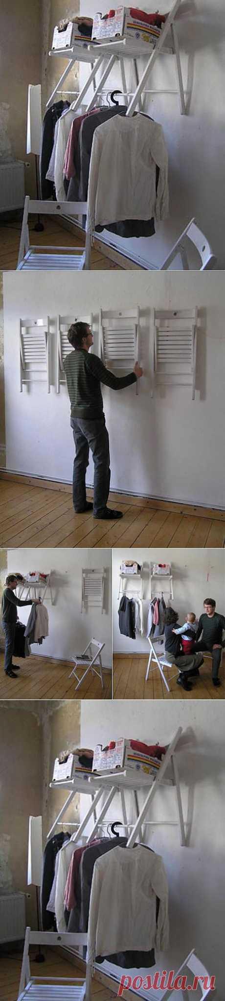 Стулья? Полки! / Мебель / Модный сайт о стильной переделке одежды и интерьера
