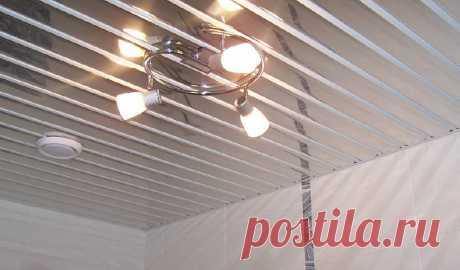 Реечный потолок для ванной: как выбрать | Строй СЛ