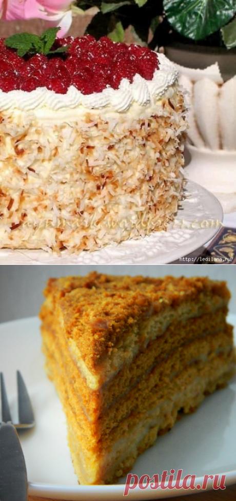 Самый вкусный и любимый торт Медовый пух