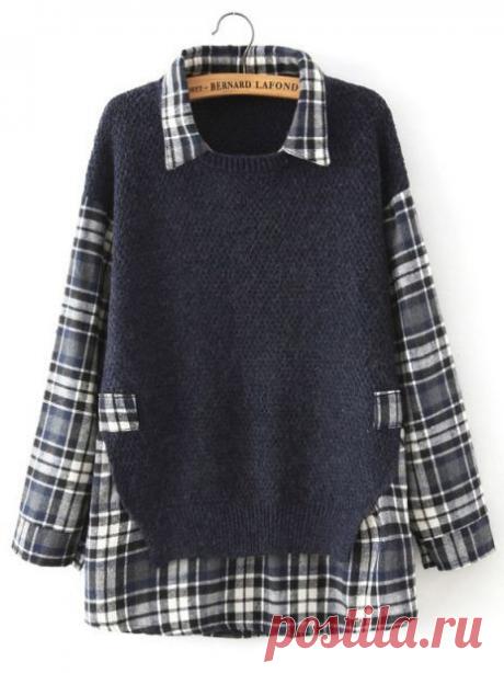 Джемпер+рубашка=новая вещь! Идеи как перешить две вещи, чтобы получить одну новую