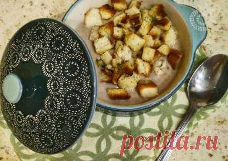 (5) Суп пюре грибной - пошаговый рецепт с фото. Автор рецепта Катя Пастухова . - Cookpad