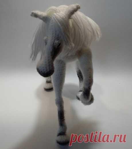 Вязание: лошадка крючком | ALGAL | Яндекс Дзен