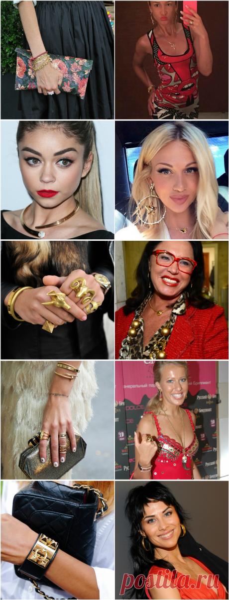 Как носить желтое золото и выглядеть современно - Мода - Леди Mail.Ru