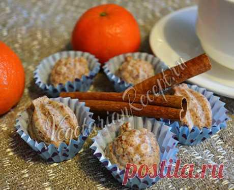 Кокосовые конфеты (из кокосовой стружки)