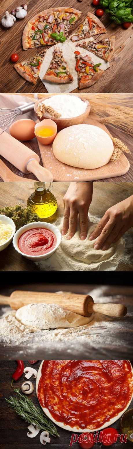 Секреты приготовления теста для пиццы