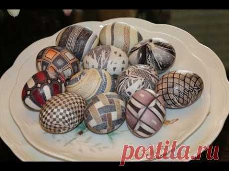 ¿Cómo pintar los huevos a la Pascua? ¡12 modos en 15 minutos!