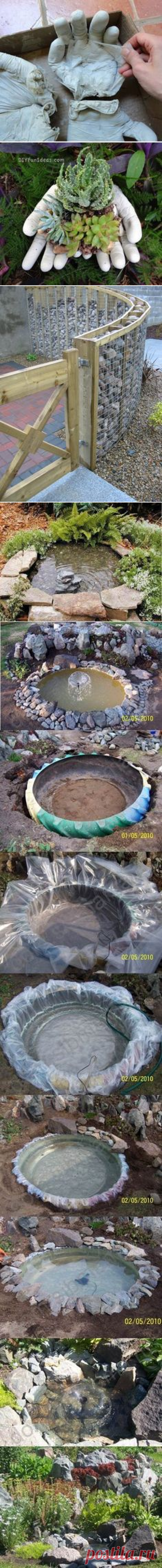 (1065) 10 Garden Decorating Ideas with Rocks and Stones - Ideas for garden decorations | Muebles