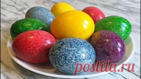 Оригинальные Пасхальные Яйца в Рисе!!!