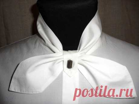 Оригинальный воротничок для стильной офисной рубашки — DIYIdeas