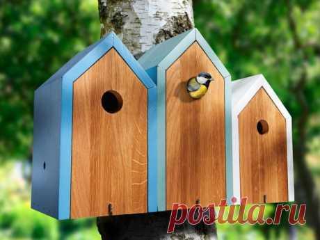 Скворечник своими руками: как сделать надежный и удобный дом для птиц