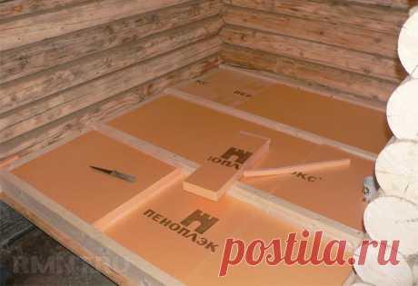 Утепление бани: стены, пол и потолок RMNT.RU
