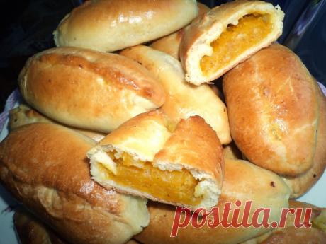 Пирожки с тыквой, рецепт в духовке / Простые рецепты