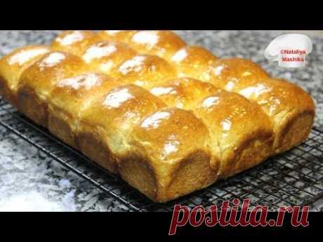 МЯГКИЕ КАК ПУХ Пшенично-медовые булочки.Невероятно вкусные!!!
