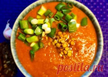 (2) Томатной-чечевичный суп - пошаговый рецепт с фото. Автор рецепта Елена🏃🏼♂️ 🏃♂️ . - Cookpad