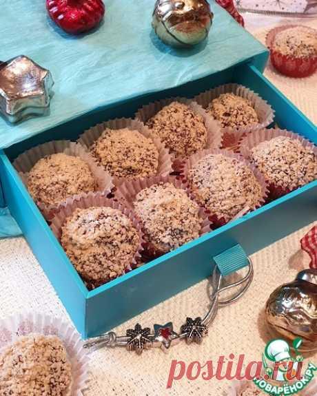 Шоколадные конфеты в вафельной крошке. Настоящие шоколадные трюфели в вафельной крошке домашнего приготовления