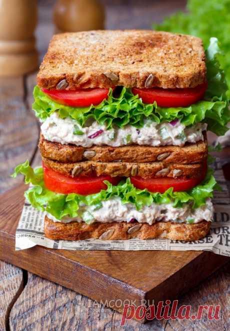 Бутерброды с тунцом и сельдереем — рецепт с фото пошагово. Вкусные, сытные и быстрые в приготовлении бутерброды с консервированным тунцом, овощами и свежей зеленью выручат в любое время года. Эти бутерброды универсальны, могут стать отличным началом дня или украсить праздничный стол.