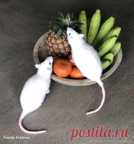 Вяжем крючком реалистичную Крысу — символ 2020 года | Журнал Ярмарки Мастеров
