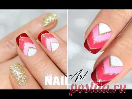 Ombre Nail Art ♥ Дизайн ногтей ГРАДИЕНТ - YouTube