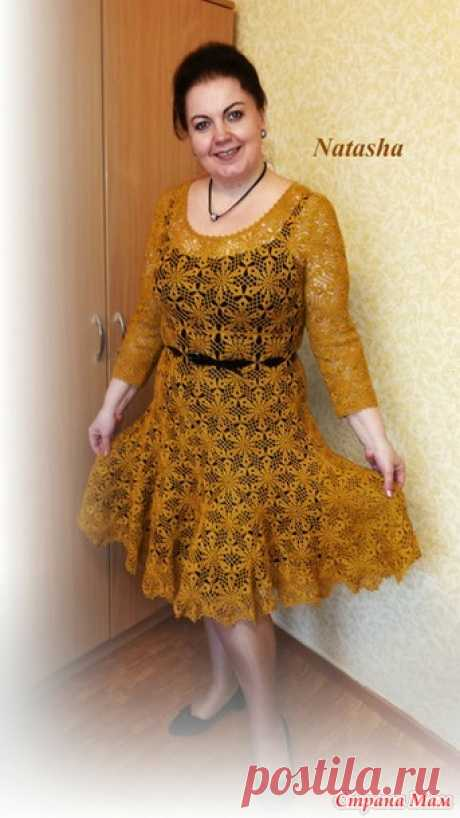 Платье крючком от nataliartiom в группе Все в ажуре... (Страна Мам)