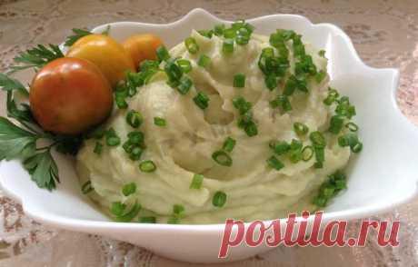 Пюре из цветной капусты рецепт с фото пошагово - 1000.menu