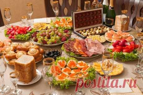 Las colaciones a la mesa de Año Nuevo