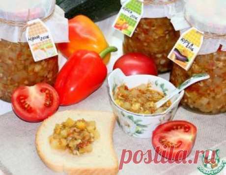 """Закуска из кабачков на зиму """"Юрча"""" – кулинарный рецепт"""
