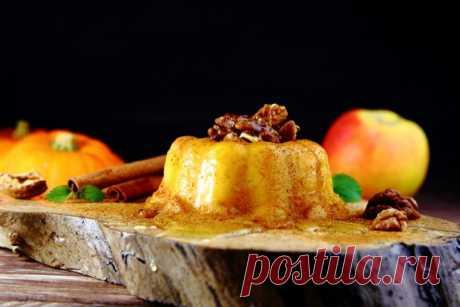Десерт из тыквы - рецепты от Шефмаркет
